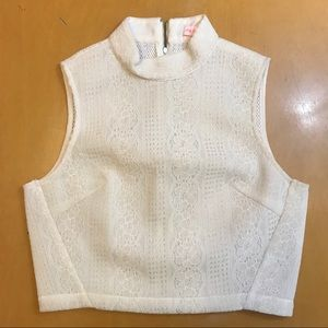 Re: Named Crop Top Women's Size LARGE HIGH NECK